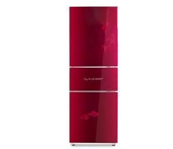 红色花纹门板